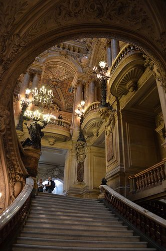 Paris, France....BEEN: Maine Stairs, Grand Staircase, Architecture Interiors, Land Architecture, Opera Houses Paris France, Garnier Palace, Opera Garnier, Grand Houses, Paris Opera Houses