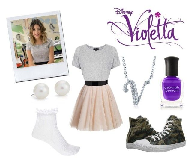 A fashion look from January 2015 featuring Topshop t-shirts, River Island  socks and Converse sneakers. Browse and shop related looks.