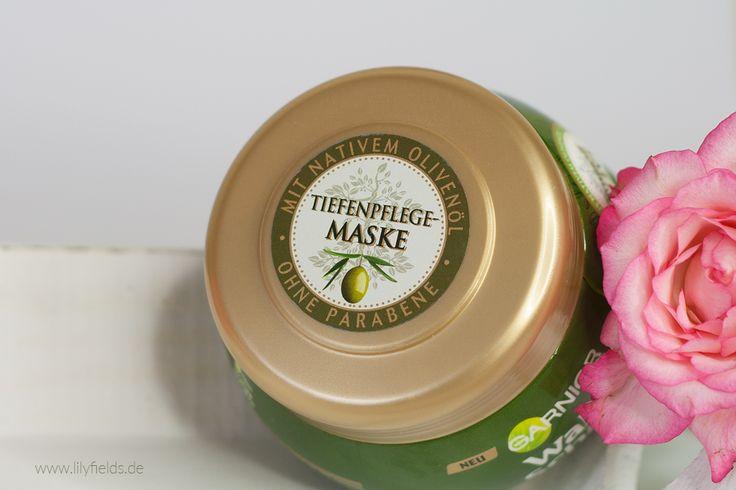 Garnier Wahre Schätze Mythische Olive Tiefenpflege-Maske