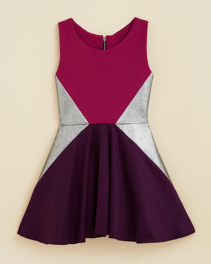 Zoe Girls' Triangle Swing Dress - Sizes 4-6X   Bloomingdale's