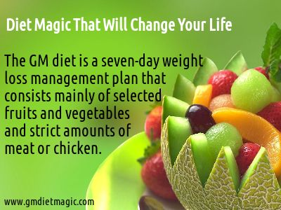 Diet Magic That will change your life by helping you loose weight in a natural way.