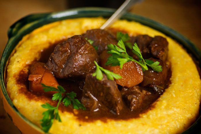 More like this: red wines , creamy polenta and polenta .