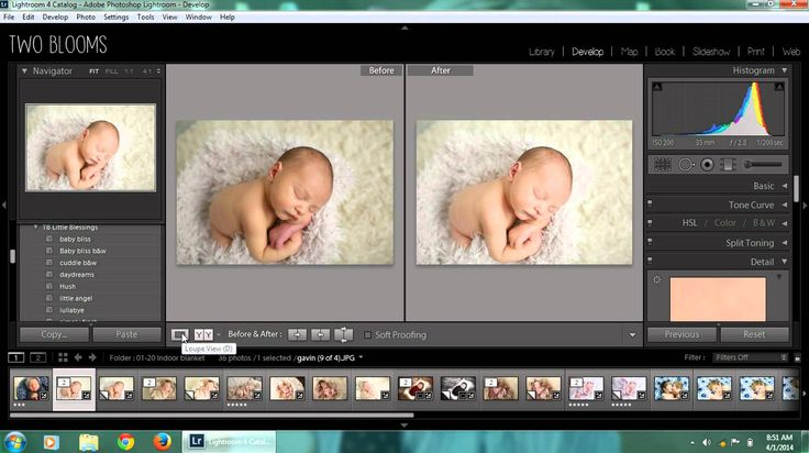 Newborn edit from start to finish in Lightroom I Two Blooms Lightroom Presets  #lightroom #presets #twoblooms