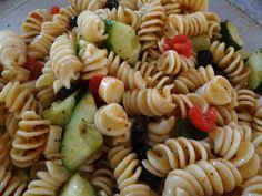 McCormick Salad Supreme Pasta Salad | Colorful Pasta Salad Made With Vegetables and Salad Supreme Recipe! My ...