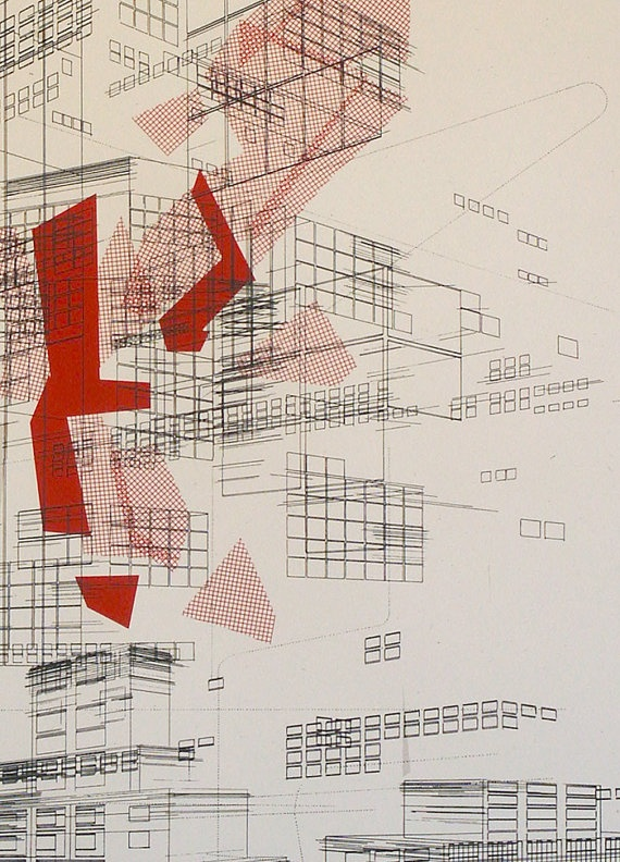Cool image from Etsy seller Ben Kafton in Utah http://www.etsy.com/people/delaflamant?ref=ls_profile: Architecture Diagrams, Architecture Drawings, Ben Kafton, Etsy Seller, Seller Ben