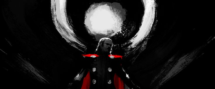 THOR: The Dark World | BLUR STUDIOS | Concept and Production Paintings for End Title Sequence