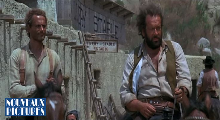 """Bud Spencer and Terence Hill are the most popular couple in the Spaghetti Western genre.  They made over 20 films together including """"They Call Me Trinity"""" and """"Trinity is still My Name"""""""
