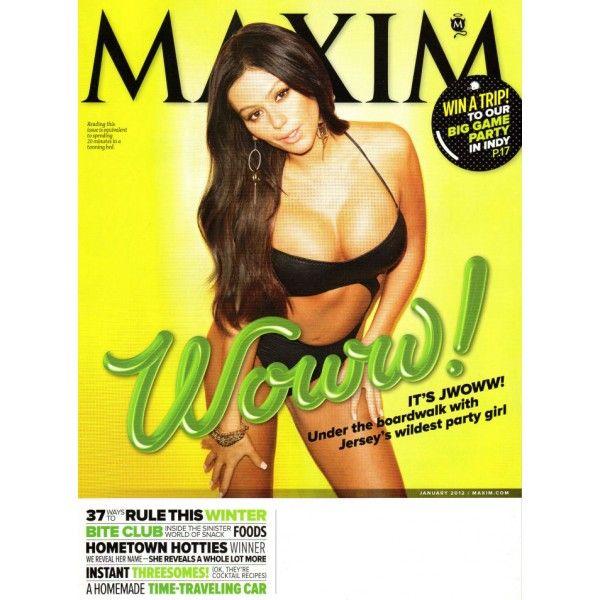 Maxim Magazine - JWOWW