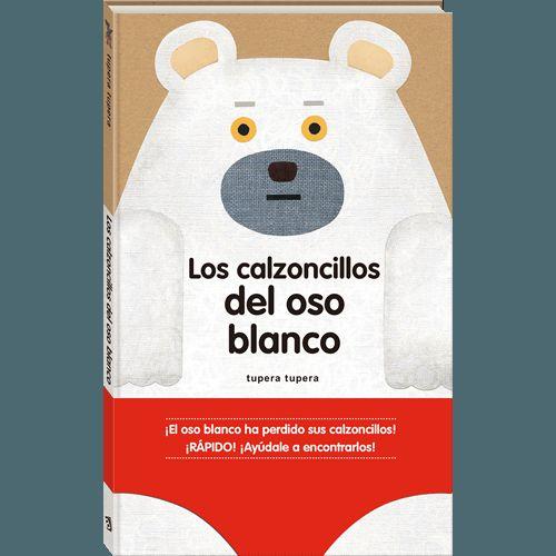 El oso blanco ha perdido sus calzoncillos pero, por suerte, su amigo el ratón se ofrece a ayudar a encontrarlos. En cada página encontrarán unos calzoncillos, y deberán averiguar si son los del oso blanco. ¿Les ayudas?(A partir de 3 años)