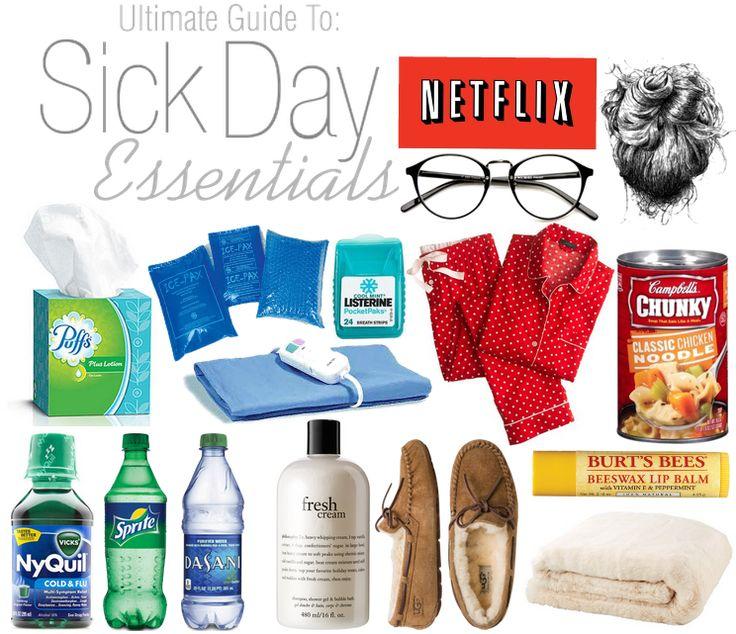 sick day essentials! Plus a few tips&tricks and a DETOX BATH!!