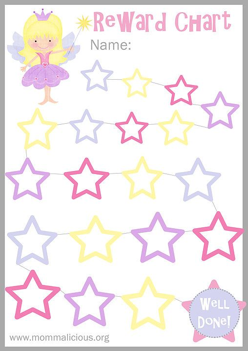 Reward charts are a great way to encourage good behavior in your child or discourage behavior you don't want.   For instance, you could encourage them to