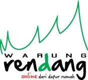The logo of Warung Rendang