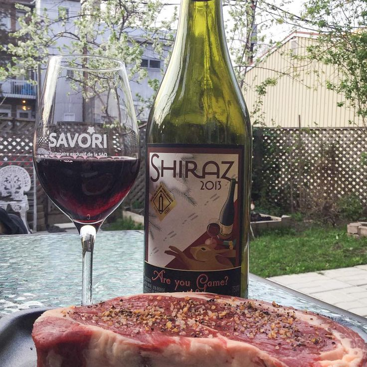 Are you Game? Shiraz from Fowles wine. Designed to pair with food, specifically game rabbit meat, but works well with a delicious steak as well.