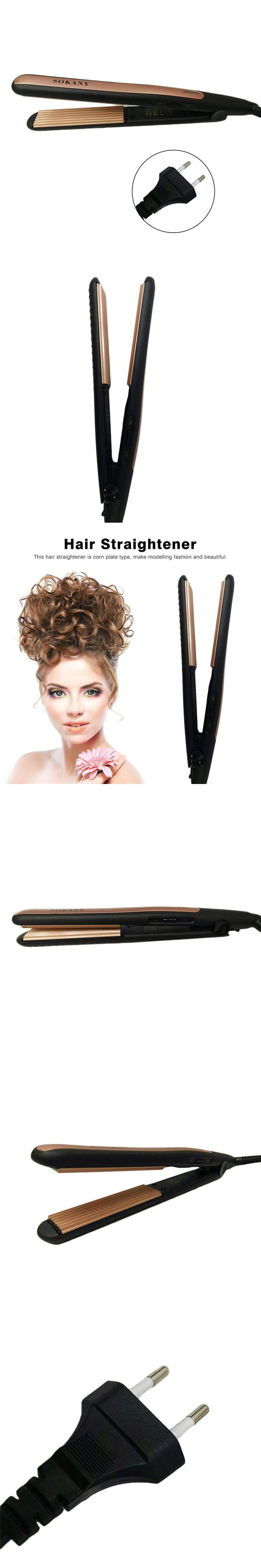Professional Electric Hair Straightener Curling Hair Salon Straightening Rapid Heating Hair Styling Tool Durable PTC heater
