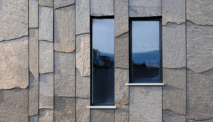 Ørlandet kulturhus - Ottaskifer fra Minera