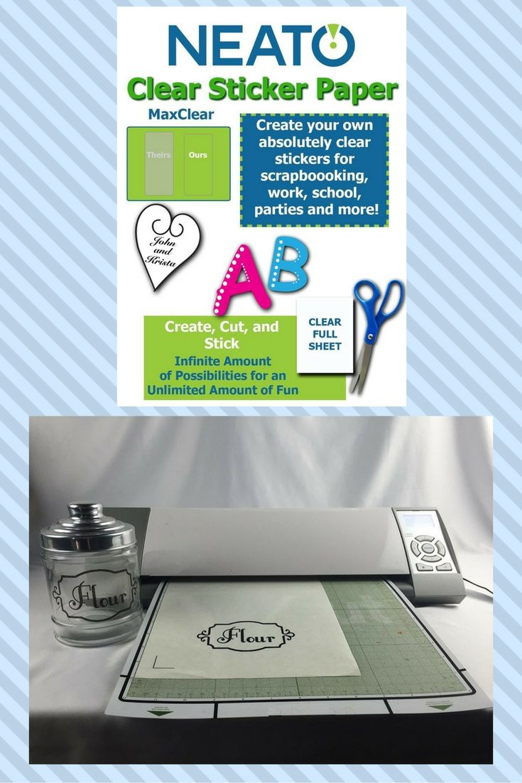 Packing Tape Image Transfer & DIY Clear Labels
