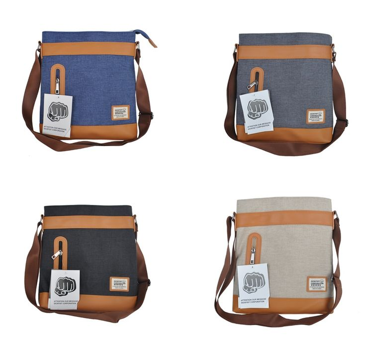 Women Men Crossbody Shoulder Waist Bag Front pocket Macbook Sleeve 4 Color  #AllYourFashion #MessengerCrossBody