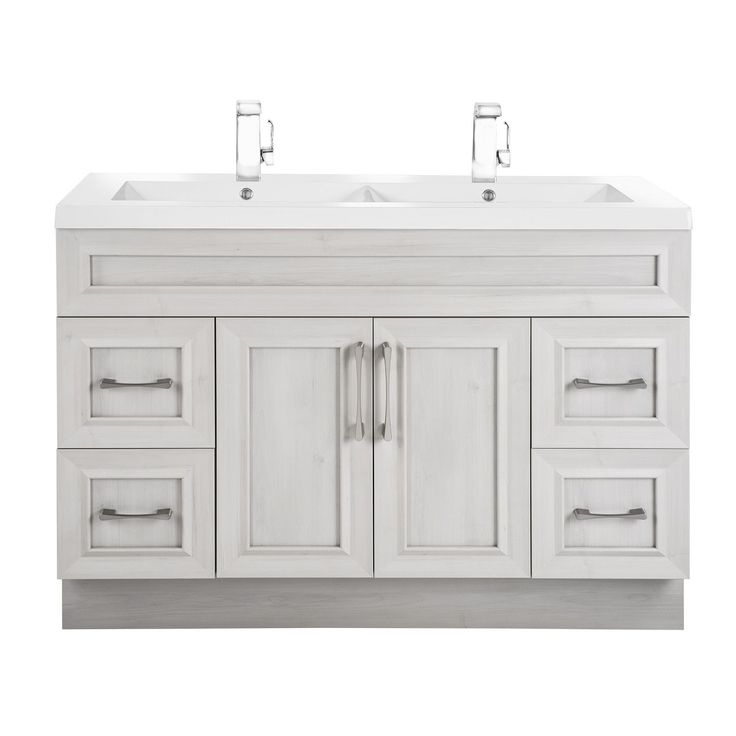 Cutler Kitchen & Bath Classic Collection Transitional Door Vanity With Double Sink