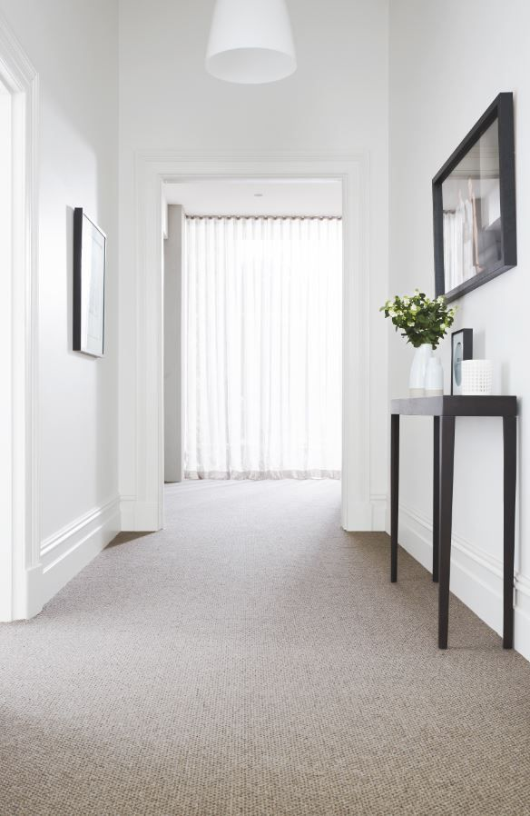 Our Provincial Lane Bakers Creek carpet is 100% wool and incredibly soft underfoot