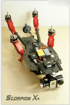 Flycker Scorpion X4 Carbon Fiber Quadcopter  Multicopter Aircraft 550mm
