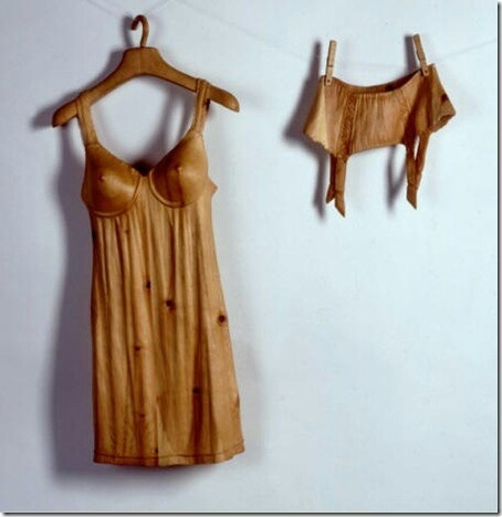 108 best images about wooden clothes on pinterest wooden tie sculpture and wood sculpture - Sculpture sur bois ...