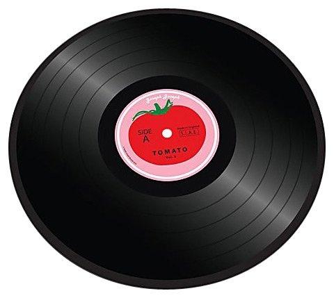 Worktop Saver Vinyl Record Design Tomato Casa Com