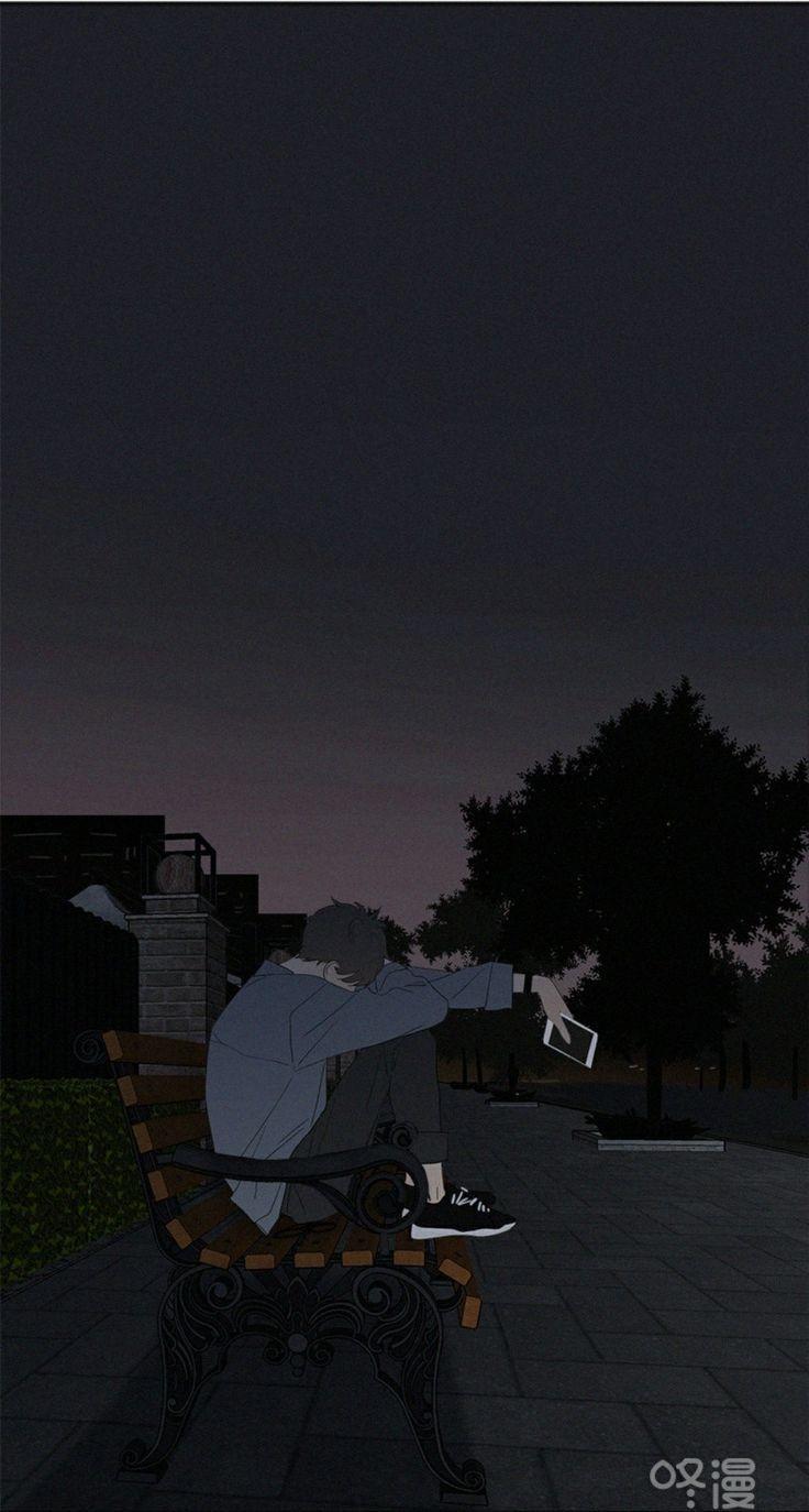 Ik Hou Ervan Dat Je In Mijn Gedachten Bent In Mijn Hart Wanneer Iedereen Bij M In 2020 Anime Scenery Anime Scenery Wallpaper Dark Anime