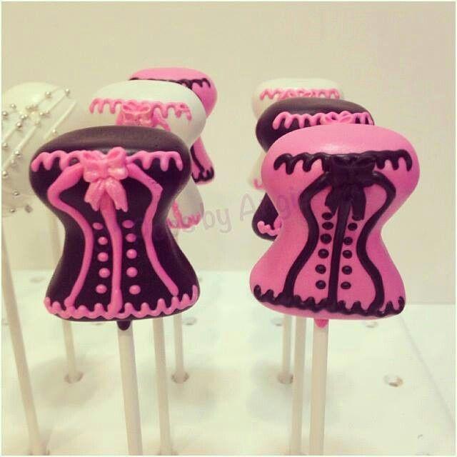 Corset Cake Pops
