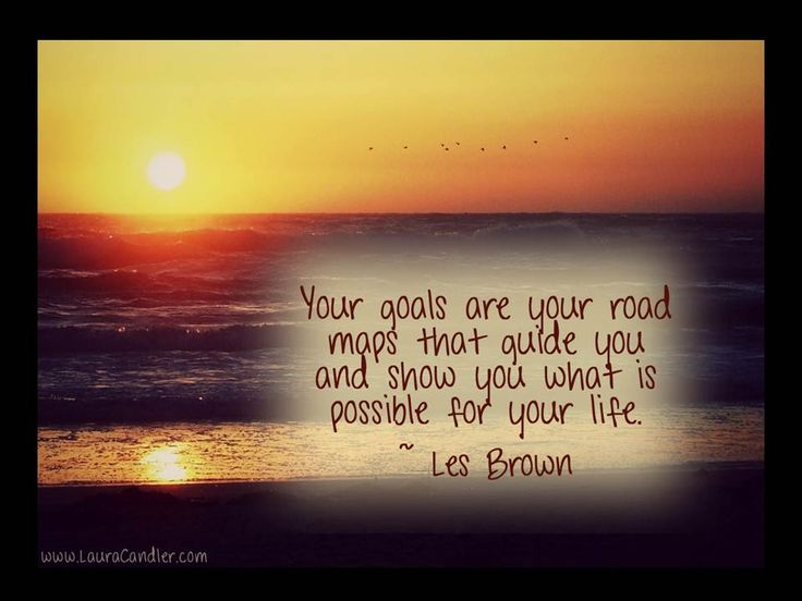 setting goals quotes inspirational images