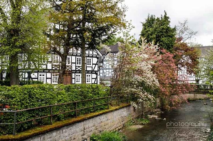 Oberkirchen in Schmallenberg, Sauerland In Winterberg lebt ein Gartenzwerg, der ging sich in Züschen einen zischen. Er hat sich verlaufen nach Schmallenberg, das ist ganz schön weit für'n vollen Zwerg.