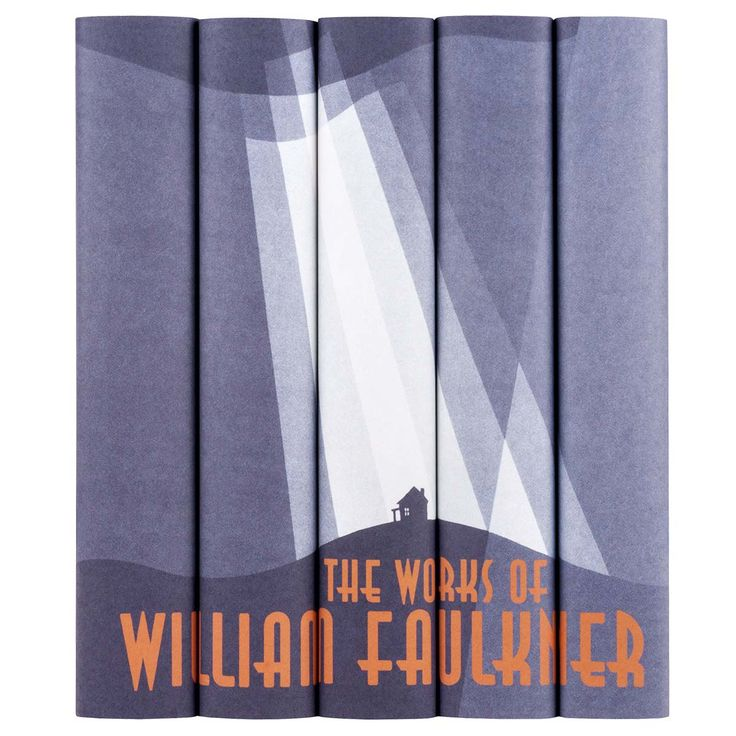 William Faulkner Books with Custom Printed Jackets - Juniper Books