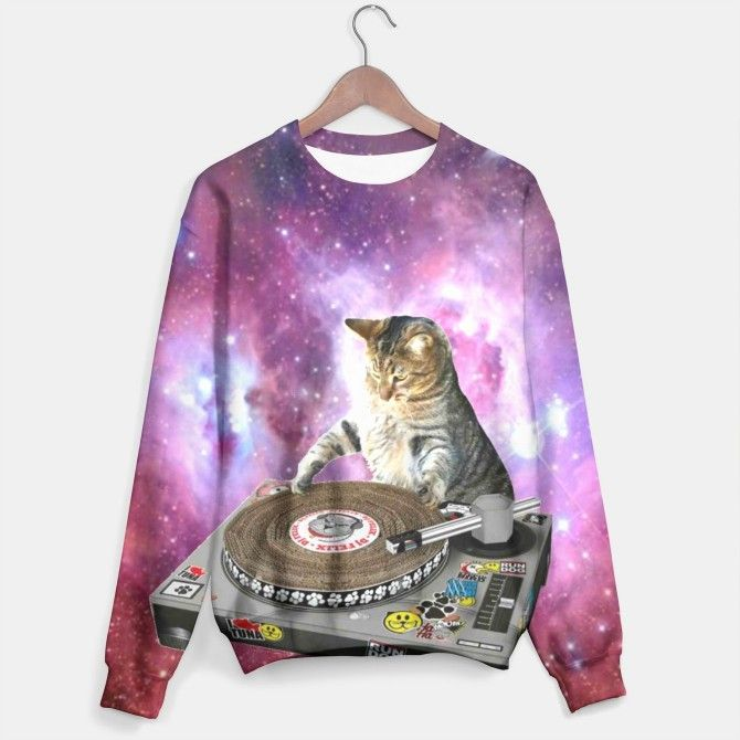 Hey DJ sweater