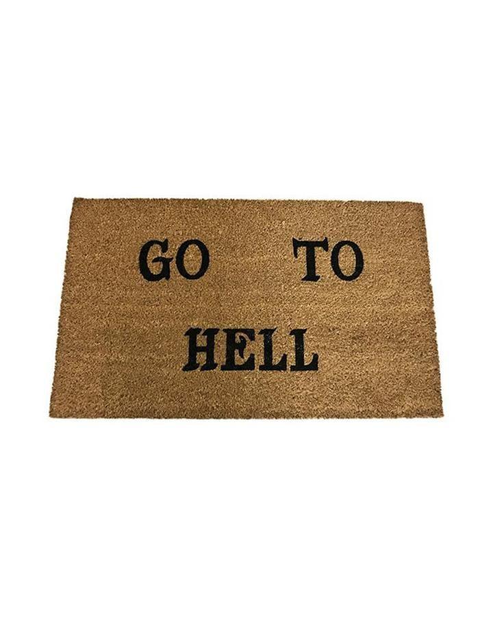 Go To Hell doormat