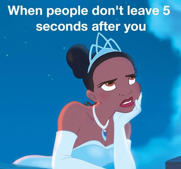 When you have that one person who swims up your butt the entire practice: | 24 Pictures That Will Actually Hit A Little Too Close To Home For Swimmers
