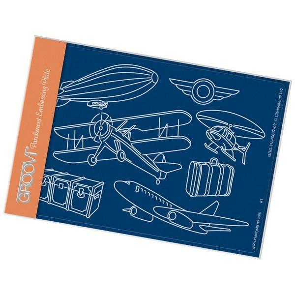 Aviation A6 Groovi Plate (Set GRO-TV-40687-02) – Claritystamp