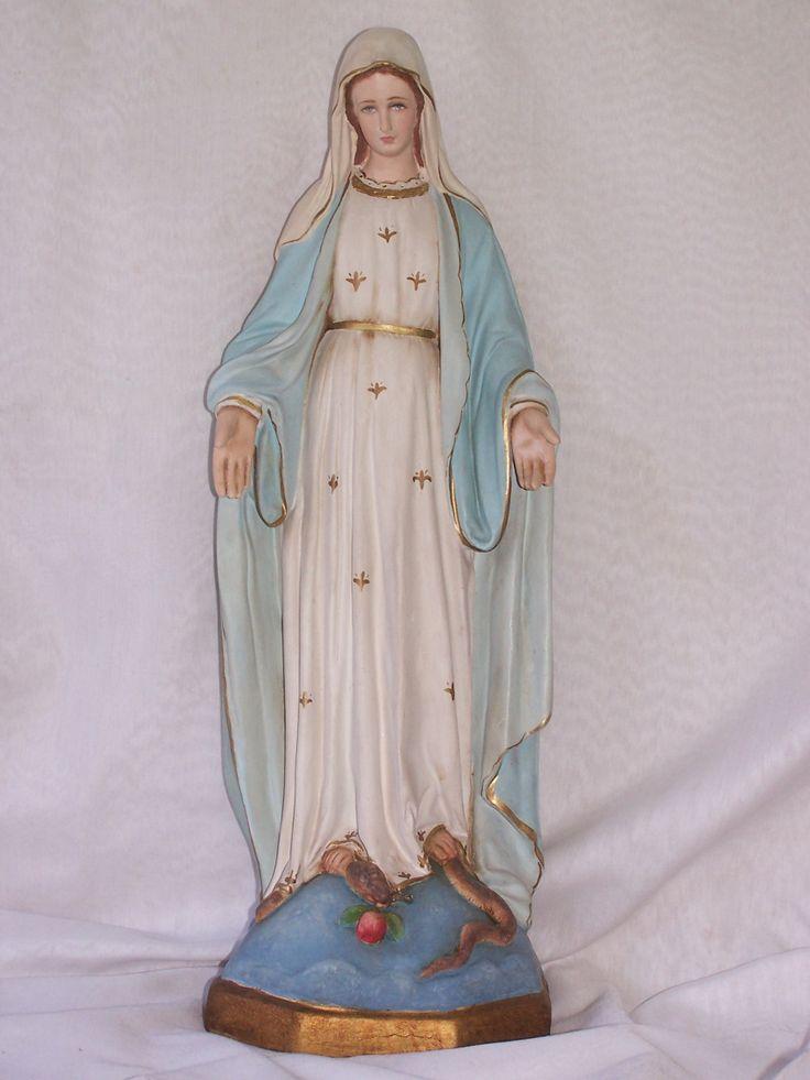 Virgen de los Rayos,restaurada