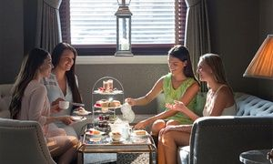 Groupon - Leisure Pass and Afternoon Tea for Two, Three or Four at The Royal Bath Hotel in The Royal Bath Hotel. Groupon deal price: £25