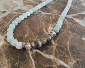Anthropologie Inspired Double Strand Necklace by ElementArtifacts