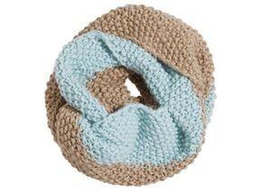 Strickpaket für Loop-Schal im Perlmuster