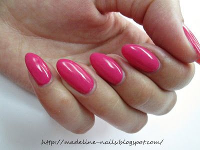 Madeline nails: Semilac - Pink Rock 007