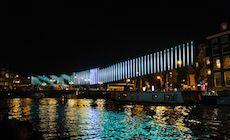 The Northern Light est une oeuvre artistique présentée dans le cadre du Amsterdam Light Festival 2015-2016 qui s'est déroulé à Amsterdam (Pays-Bas). Imaginé par l'artiste Serbe Aleksandra Stratimirovic basée en Suède, cette installation lumineuse composée de mâts équipés en Led intelligente (Pilotable en Led à Led) permettant cet effet visuel rappelant le phénomène des aurores boréales.