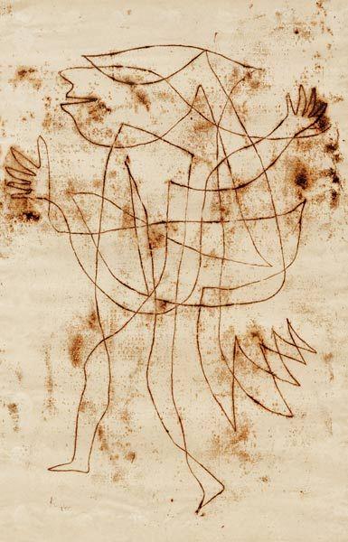 Paul Klee, Kleiner narr in trance.