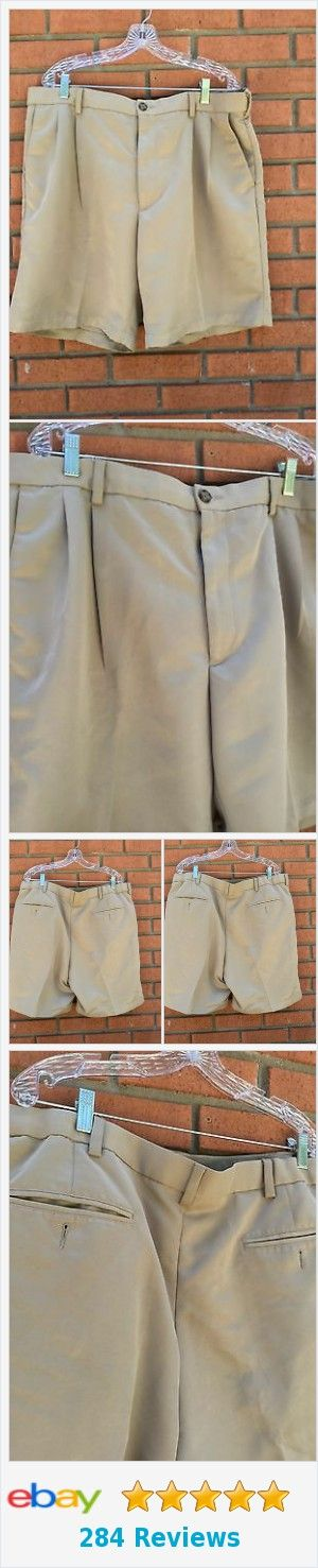 Men's Roundtree & Yorke Classic Pleated Front Khaki Chino Dress Shorts - Sz 40 http://www.ebay.com/itm/Men-s-Roundtree-amp-Yorke-Classic-Pleated-Front-Khaki-Chino-Dress-Shorts-Sz-40-/222472448344?ssPageName=STRK:MESE:IT