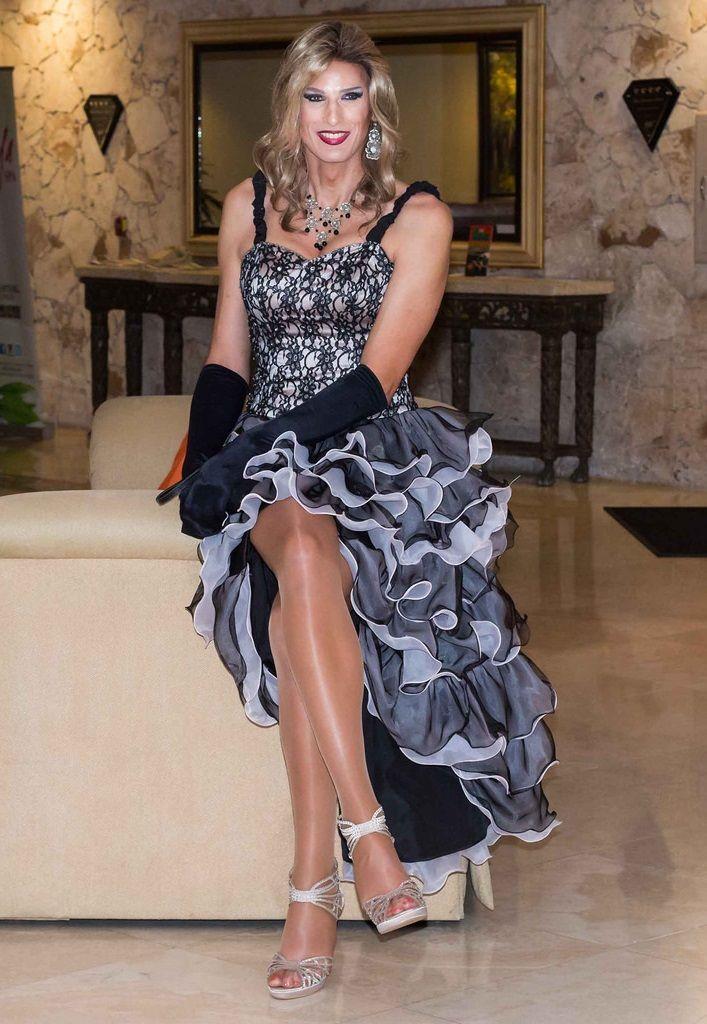 Transvestite evening dress the expert