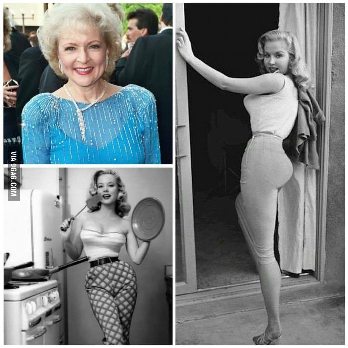 Betty White in her 20's! - DAMMMNN BETTY HAD BACK