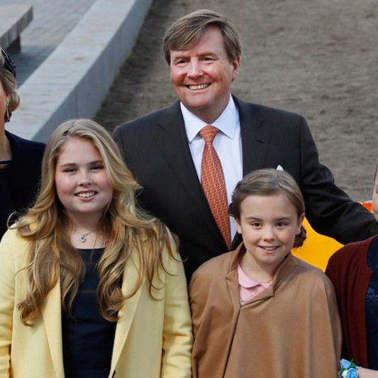 Koning viert vijftigste verjaardag in Tilburg