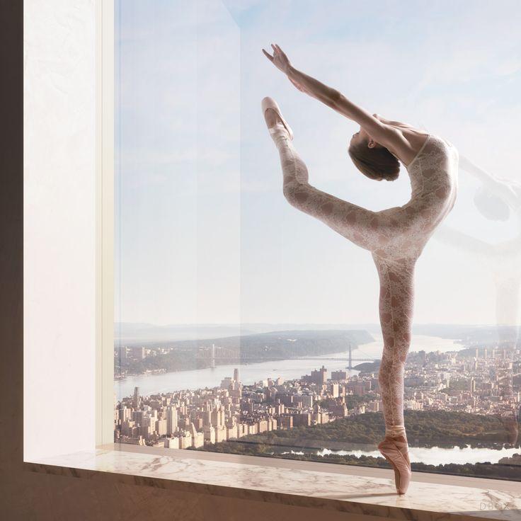 432 Park Avenue Fashion/Ballet editorial.DBOX 2013