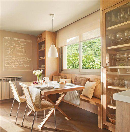 Comer en la cocina: 18 office con mucho encanto · ElMueble.com · Cocinas y baños