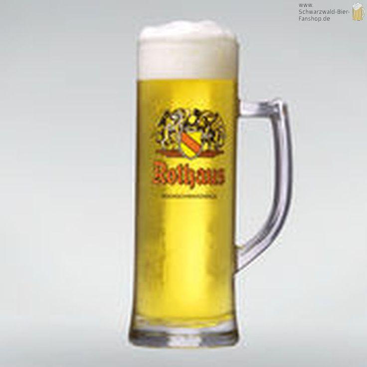 Rothaus Baden Seidel - auf Schwarzwald-Bier-Fanshop.de, dem Shop für Fanartikel der bad. Staatsbrauerei Rothaus AG, sowie der Waldhaus Brauerei., 19,90 €