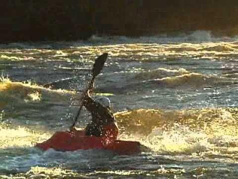 kayak en eau vive a Rawdon